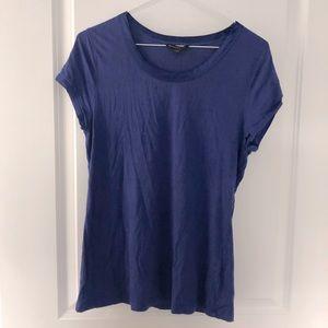 Free with bundle - Purple T-shirt with satin trim